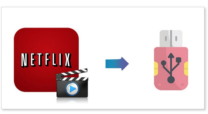 netflix video to usb